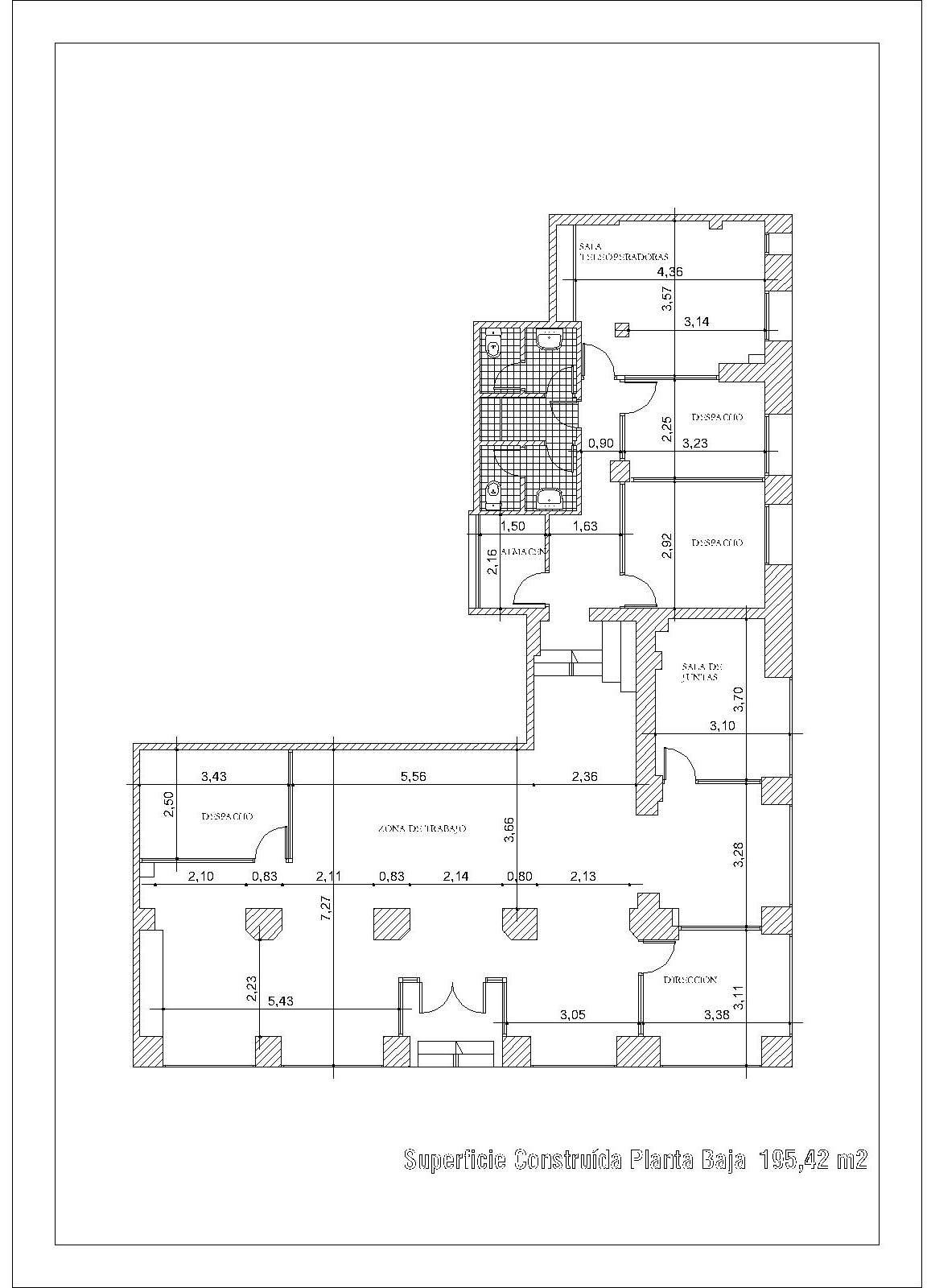 Albarquitectura valoraciones inmobiliarias ite for Planos de locales