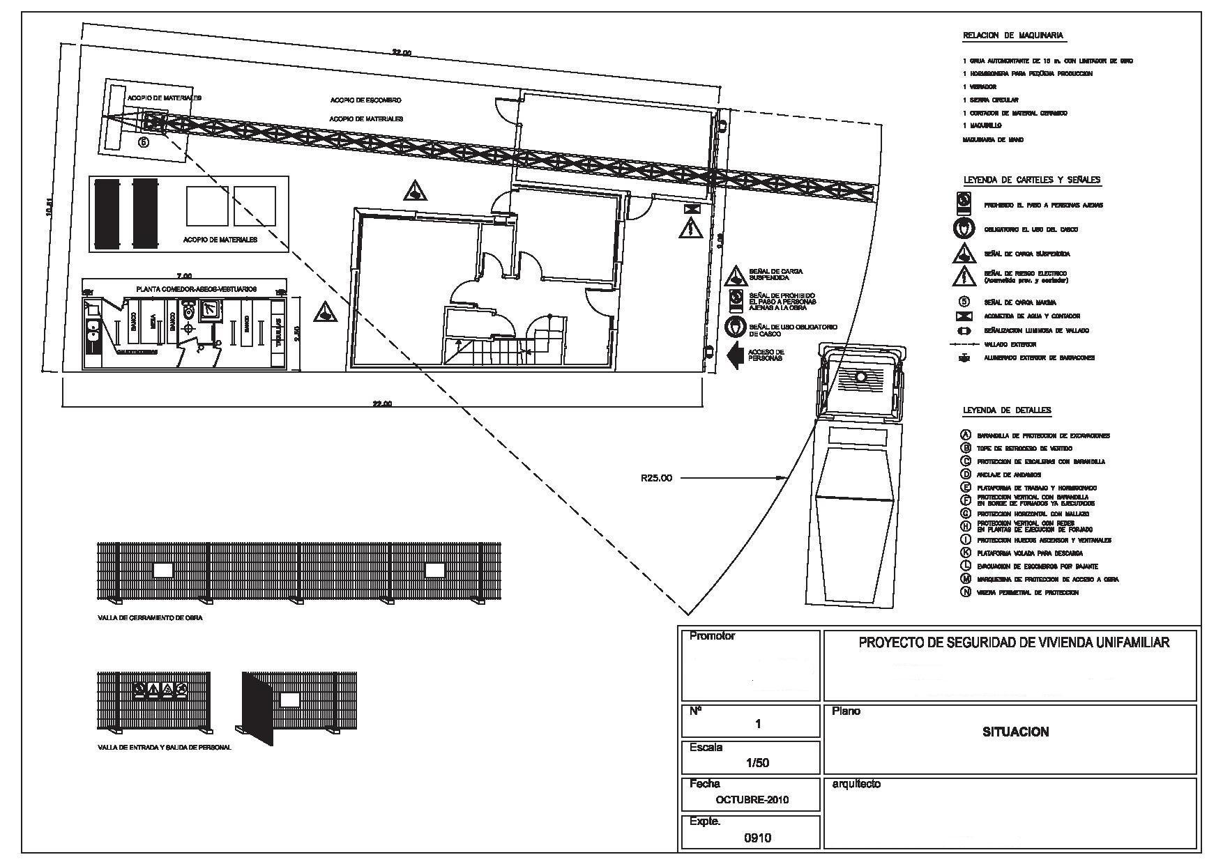 Plano de saneamiento vivienda unifamiliar free normas de for Plano vivienda